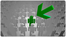 Online-Marketing - Internet-Werbung trifft ihre Zielperson genau