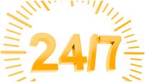 Rund um die Uhr Kunden durch Internetwerbung